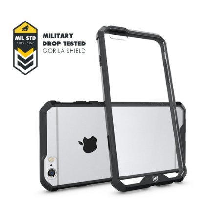 Capa Ultra Slim Air Preta para Apple iPhone 6 Plus/6S Plus - Gorila Shield