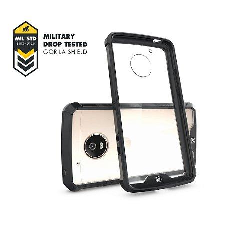 Capa Ultra Slim Air Preta para Motorola Moto G5 Plus - Gorila Shield