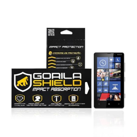 Película de vidro para Microsoft Lumia 820 - Gorila Shield