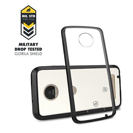 Capa para Moto Z Play - Ultra Slim Preta - Gorila Shield