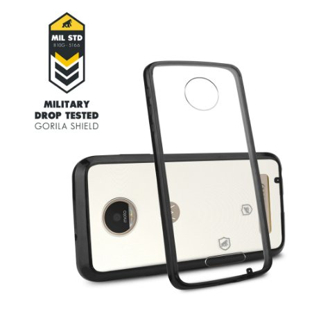 Capa Ultra Slim Air Preta para Motorola Moto Z Play - Gorila Shield