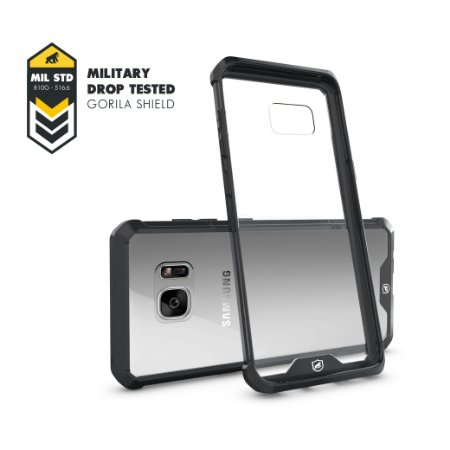 Capa Ultra Slim Air Preta para Samsung Galaxy S7 Flat - Gorila Shield