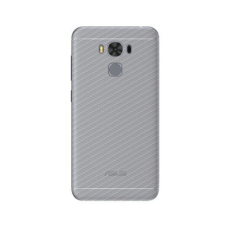 Película Traseira de Fibra de Carbono Transparente para Asus Zenfone 3 Max 5.5 ZC553KL - Gorila Shield