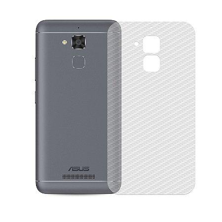 Película Traseira de Fibra de Carbono Transparente para Asus Zenfone 3 Max 5.2 - Gorila Shield