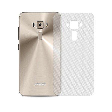 Película Traseira de Fibra de Carbono Transparente para Asus Zenfone 3 ZE520KL - Gorila Shield