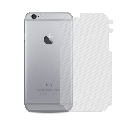 Película Traseira de Fibra de Carbono Transparente para Apple IPhone 6 - Gorila Shield