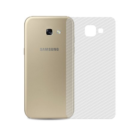 Película Traseira de Fibra de Carbono Transparente para Samsung Galaxy A5 2017 - Gorila Shield
