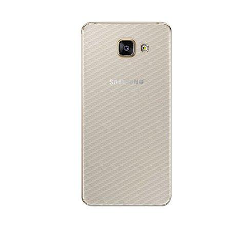 Película Traseira de Fibra de Carbono Transparente para Samsung Galaxy A7 2016 - Gorila Shield