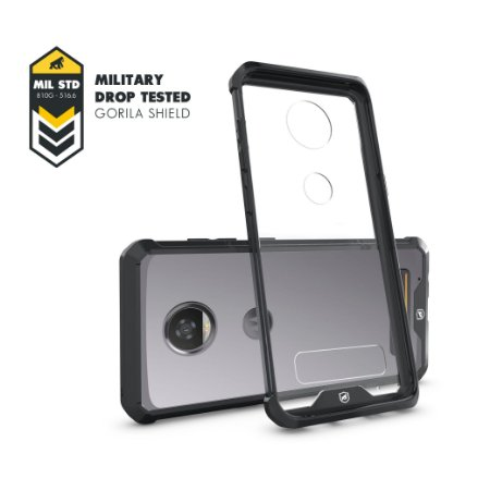 Capa Ultra Slim Air Preta para Motorola Moto Z2 Play - Gorila Shield