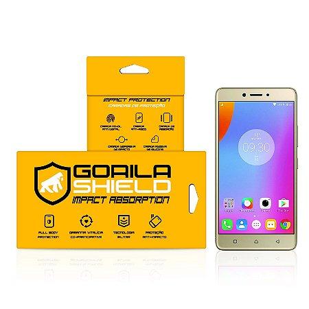 Película Nano Gel Dupla para LG K10 Power - Gorila Shield (Cobre toda tela)