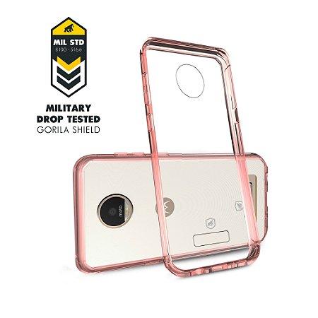 Capa para Motorola Moto Z Play - Ultra Slim Rosa - Gorila Shield