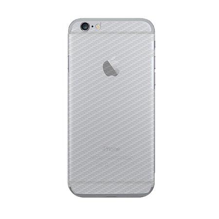Película Traseira de Fibra de Carbono Transparente para Iphone 6 Plus e 6s plus - Gorila Shield