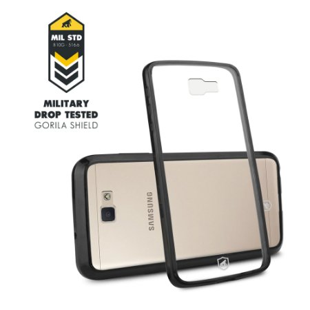 Capa Ultra slim Air Preta para Samsung Galaxy J5 Prime - Gorila Shield