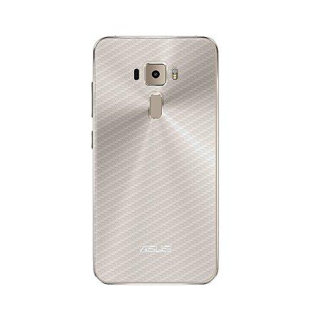 """Película Traseira de Fibra de Carbono Transparente para Asus Zenfone 3 Deluxe 5.7"""" - Gorila Shield"""