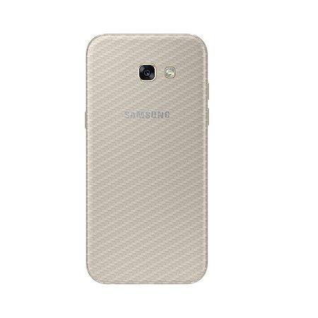 Película Traseira de Fibra de Carbono Transparente para Samsung Galaxy J5 Prime - Gorila Shield