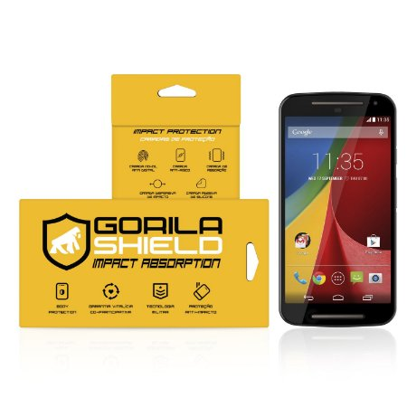 Película de vidro para Moto G2 – Double Protection – Gorila Shield