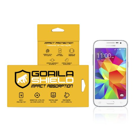 Película de vidro para Galaxy Core Prime – Double Protection – Gorila Shield
