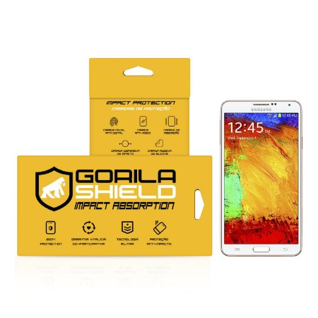 Película de Vidro Dupla para Samsung Galaxy Note 3 - Gorila Shield