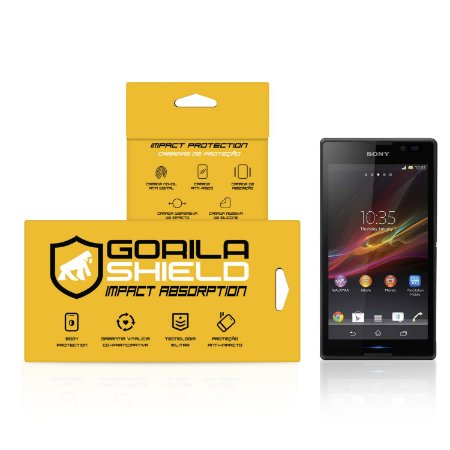 Película de Vidro Dupla para Sony Xperia C - Gorila Shield