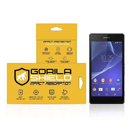 Película de vidro para Sony Z2 – Double Protection – Gorila Shield
