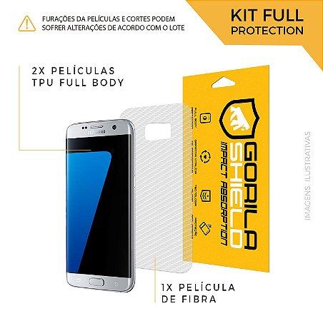 Película Full Body para Galaxy S6 Edge – Full Protection – Gorila Shield