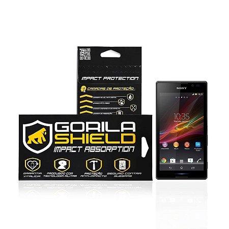 Película de vidro para sony Xperia C - Gorila Shield