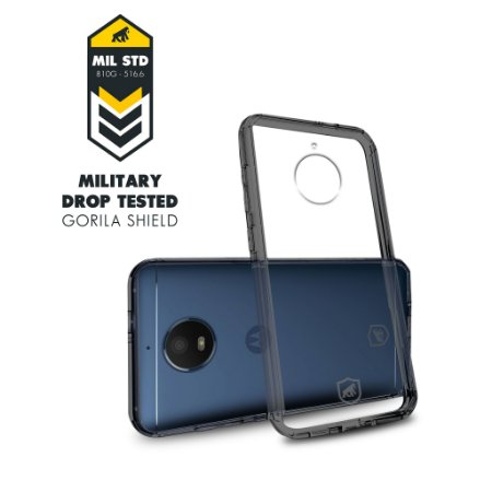 Capa Ultra Slim Air Preta para Motorola Moto E4 Plus - Gorila Shield