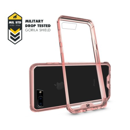 Capa Ultra Slim Air Rosa para Iphone 8 Plus - Gorila Shield