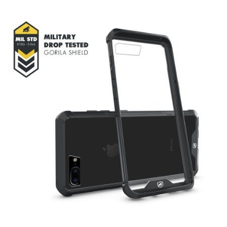 Capa Ultra Slim Air Preta para Iphone 8 Plus - Gorila Shield