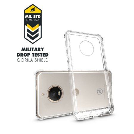 Capa para Motorola moto G5S - Ultra Clear - Gorila Shield
