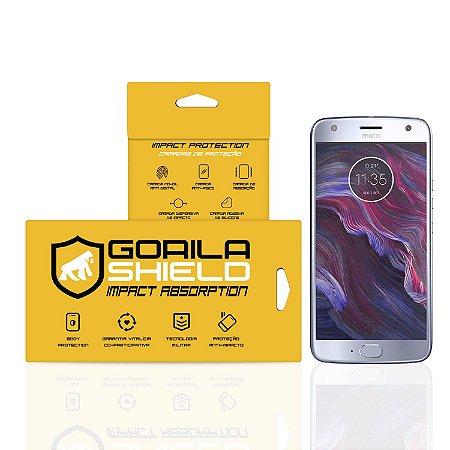 Película de Vidro Dupla para Motorola Moto X4 - Gorila Shield (Cobre apenas parte plana da tela)