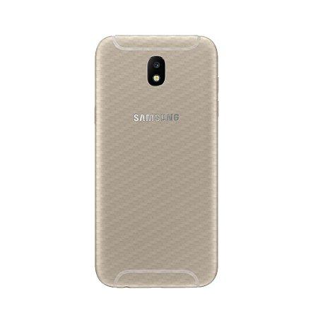 Película Traseira de Fibra de Carbono Transparente para Samsung Galaxy J7 PRO - Gorila Shield