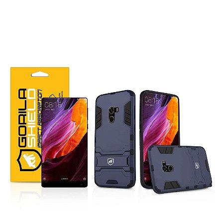 Kit Capa Armor e Película de vidro dupla para Xiaomi Mi Mix - Gorila Shield