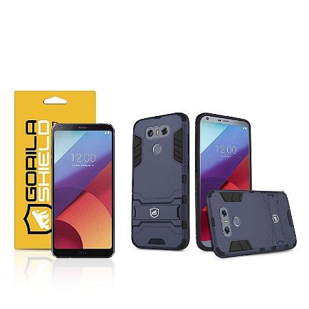 Kit Capa Armor e Película de vidro dupla para LG G6 - Gorila Shield