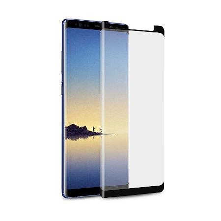 Película de Vidro Coverage Color para Galaxy Note 8 - Preta - Gorila Shield (Cobre toda tela)