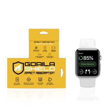Película Nano Gel Dupla para Apple Watch / iwatch (42mm) - Gorila Shield