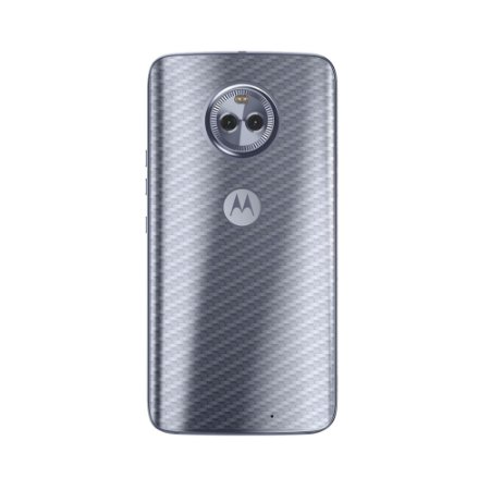 Película Traseira de Fibra de Carbono Transparente para Motorola Moto X4 - Gorila Shield
