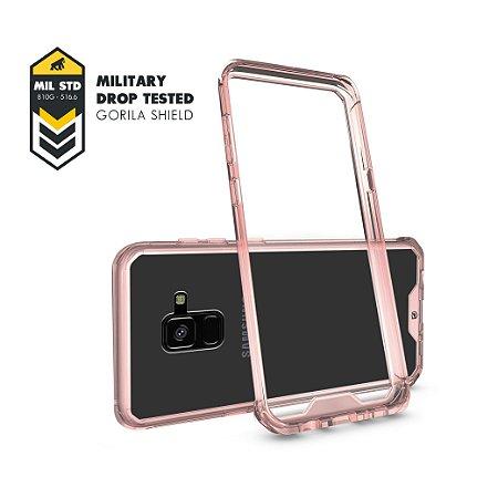 Capa Ultra Slim Air Rosa para Samsung Galaxy A8 - Gorila Shield