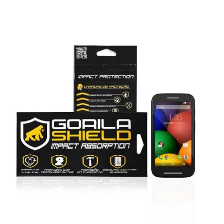 Película de Vidro para Motorola Moto E - Gorila Shield