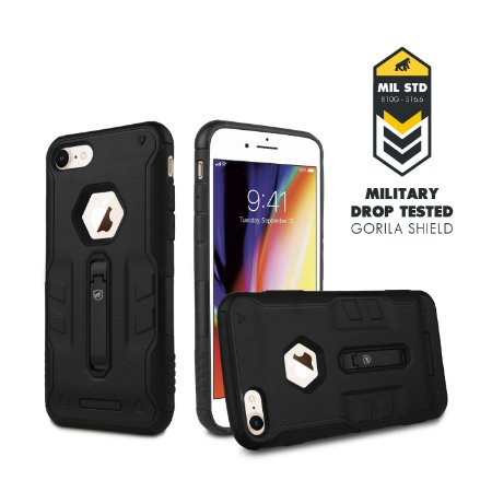 CAPA TECH CLIP PARA IPHONE 7 e 8 - GORILA SHIELD