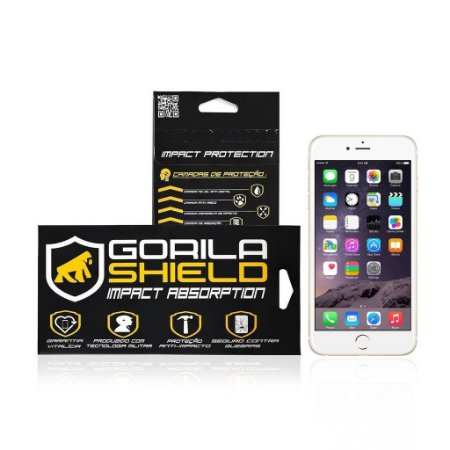 Película de Vidro para Apple Iphone 6 Plus e 6S Plus - Gorila Shield