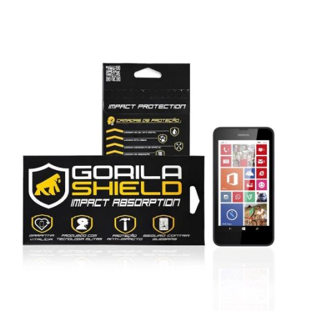 Película de vidro para Microsoft Lumia 635 - Gorila Shield