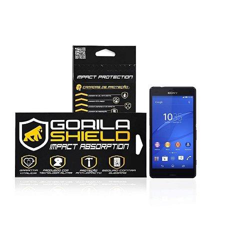 Película de vidro frontal e traseira para Sony Xperia Z3 Compact  - Gorila Shield