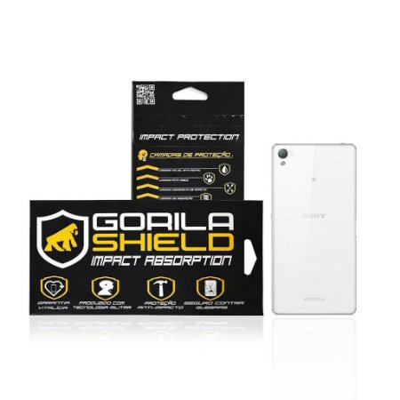 Película de vidro Traseira para Sony Xperia Z3 - Gorila Shield