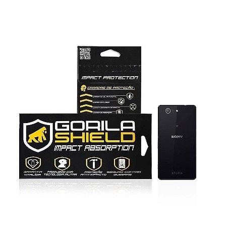 Película de vidro traseira para Sony Z3 compact - Gorila Shield
