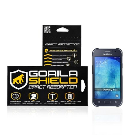 Película de Vidro para Galaxy J1 Ace - Gorila Shield