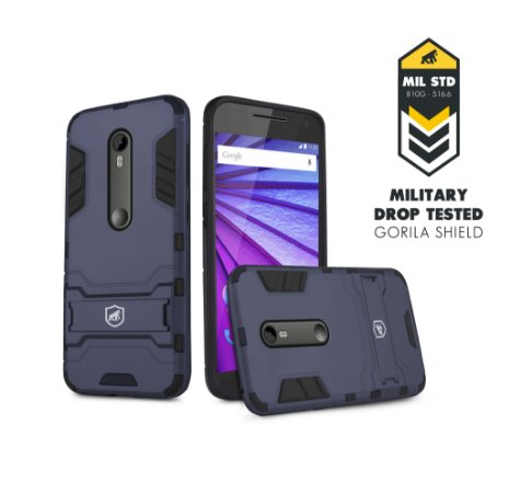 Capa Armor para Motorola Moto G3 - Gorila Shield