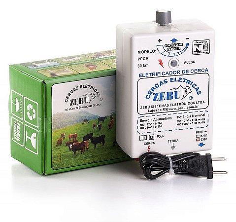 Eletrificador De Cerca Elétrica Rural PPCR 30Km Zebu