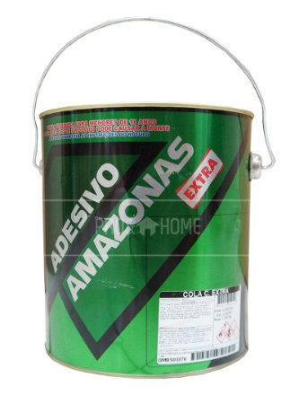Cola De Contato Amazonas Extra Galão 2,8 Kg Couro Madeira
