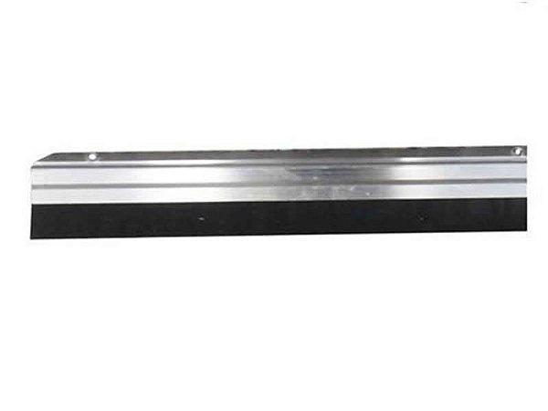 Kit com 4 Veda Porta 80cm Em Alumínio e Borracha